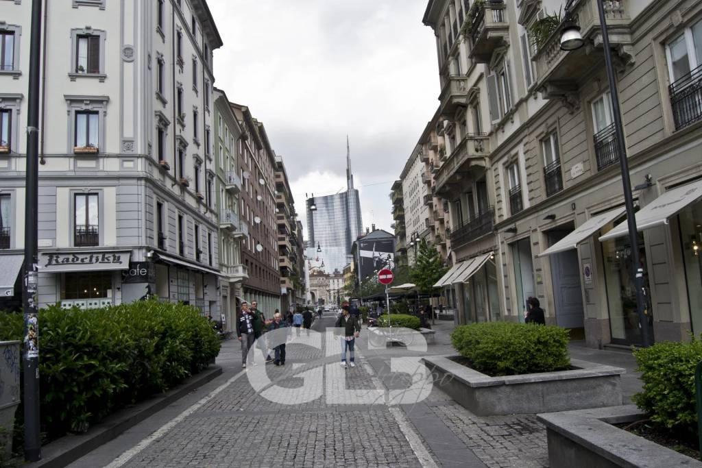 Adiacenze Moscova - locazione ufficio mq. 205